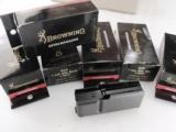3 Browning BAR Factory 3 Shot Magazines for .300 Winchester Magnum caliber Old Model Pre 1994 B.A.R. 3x$23 No Mk II Browning Automatic Rifle Pre-Mark- 2 of 12