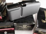 3 Browning BAR Factory 3 Shot Magazines for .300 Winchester Magnum caliber Old Model Pre 1994 B.A.R. 3x$23 No Mk II Browning Automatic Rifle Pre-Mark- 6 of 12