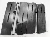 Star model B 9mm Pistol Factory 9 Shot Magazine 1940s WWII Era Production 2 Piece Catch Slotted Grip Frame Excellent Condition