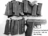 3 Sig 9mm P6 P225 Factory German 8 Shot Magazine 3x$23 Sig-Sauer Dovetailed Steel 1980s Production Very Good 34225605- 9 of 10
