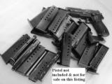 3 Sig 9mm P6 P225 Factory German 8 Shot Magazine 3x$23 Sig-Sauer Dovetailed Steel 1980s Production Very Good 34225605- 1 of 10
