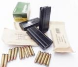 Lots of 3 or more M1 Carbine Magazine 30 caliber 15 Shot KCI Blue Steel South Korean Military New and Unissued M-1 .30 Cal $19 per on 3 or more