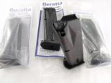 3 Beretta Factory 10 Shot Magazines to Fit Model 96 Pistol .40 S&W Caliber New Unissued Pulled from stock in 2004 $26 each on 3 or more - 1 of 7