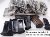 3 or more Magazines for Browning Hi-Power Ten Shot 9mm Mec-Gar New Unissued MecGar clip for High Power HiPower CA Compliant $19 per on 3 or more - 1 of 12