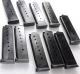 3 Colt Government 1911 .45 ACP Blue Steel 8 Shot Magazines ACT-Mag New Italian Made Mec Gar Competitor 45 Automatic $23 per on 3 or more- 11 of 11