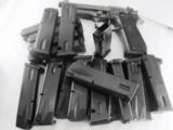 Lots of 3 or more Beretta 92FS Factory Magazine 9mm 15 Shot New & Unissued Italian All 92 Series Pistols 92SB 92SBF 92F M9 $26 per on 3 or more - 9 of 8