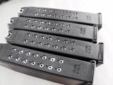 3 Glock 19 Magazines 9mm KCI 15 Shot Free Falling Steel Inner Liner 4th Generation OK New Fits models 19 26 $12 per on 3 or more - 8 of 11