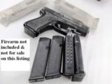 3 Glock 19 Magazines 9mm KCI 15 Shot Free Falling Steel Inner Liner 4th Generation OK New Fits models 19 26 $12 per on 3 or more - 1 of 11