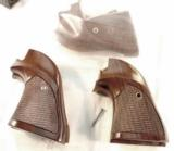 Colt Scout Target Walnut Grips Adaptable many .22 Single Action GRsil091 - 11 of 12