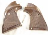 Colt Scout Target Walnut Grips Adaptable many .22 Single Action GRsil091 - 2 of 12
