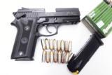 Taurus 9mm PT911 Lightweight Compact Beretta 92 Vertec type 16 Shot Rail 2 Magazines PT-911 191104115- 4 of 7