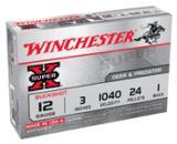 Ammo: 12 gauge #1 Buckshot Winchester 50 round Lot of 10 boxes 3 inch Magnum Buck twelve ga. Shotshell Shotgun Shell Ammunition $5.90 per Box @ 10 - 2 of 13