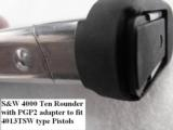 Lot of 3 Magazine Grip Adapters Smith & Wesson 5906 Magazine to 6906 Guns General Precision Black Polymer Puts Big 59 Mags onto Models 469 669 6904 69 - 13 of 15