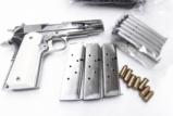 3 Lots Colt 1911 Government type HFC Stainless 7 Shot Magazines New 3x$13 XM121SS - 8 of 8