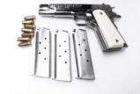 3 Lots Colt 1911 Government type HFC Stainless 7 Shot Magazines New 3x$13 XM121SS - 1 of 8