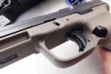 FMK 9mm model 9C1 Generation 2 NIB 15 Shot 2 Magazines 3 Dot US Made Desert Color Frame - 9 of 14