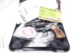 Armscor .38 Special Colt Detective Clone 2 inch Blue Steel Wood Magna Grips 38 Spl Snub 6 Shot NIB - 3 of 15