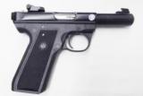 Ruger .22 LR 22/45 Blue & Polymer 4 1/2 inch Bull Barrel Adjustable Sights NIB 2 Magazines 11 Shot P2245 CA MA OK MK III Series Mark 3 1/2 10109- 15 of 15