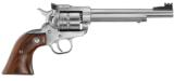 Ruger .22 Magnum Single Nine KNR69M 6 1/2 inch Stainless 9 Shot Fiber Optic Adjustable Sights 22 Winchester Magnum Only New In Box - 2 of 15