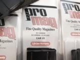 M1 Carbine 10 Shot Magazine Pro-Mag New Blue Steel XMCAR01 for .30 M-1 Carbine- 2 of 8