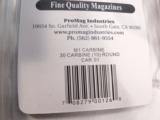 M1 Carbine 10 Shot Magazine Pro-Mag New Blue Steel XMCAR01 for .30 M-1 Carbine- 7 of 8