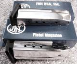 Lots of 3 or more Magazine FNP9 Factory Stainless 16 Shot FNP-9 Pistol Brand New Fabrique Nationale FNH SKU 471030- 8 of 9