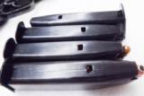 3 Mag Lot CZ-83 .380 or CZ-82 9x18 Makarov Factory 12 Shot Magazines Czeska Zbrojovka CZ83 CZ82 Clip CZ 83 CZ 82 New Unfired Blue Steel 380 automatic- 3 of 12