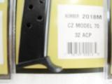 Czech CZ70 32 Auto Magazine Triple K 8 round .32 ACP XM2018M - 3 of 11