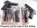 3 Smith & Wesson 5906 Magazines 15 Shot Mec-Gar 3x$29 New Blue S&W models 59 459 659 5903 5906 5946 Star 28 30 Kel-Tec SUB 2000 - 1 of 10