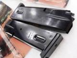 3 Smith & Wesson 5906 Magazines 15 Shot Mec-Gar 3x$29 New Blue S&W models 59 459 659 5903 5906 5946 Star 28 30 Kel-Tec SUB 2000 - 3 of 10