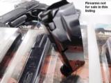 3 Smith & Wesson 5906 Magazines 15 Shot Mec-Gar 3x$29 New Blue S&W models 59 459 659 5903 5906 5946 Star 28 30 Kel-Tec SUB 2000 - 2 of 10