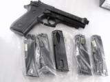 Lots of 3 or more Taurus PT92 PT99 Magazines 15 Shot 9mm Asian Blue Steel NIB PT-92 PT-99 Clip for PT92C can be fitted for PT911 PT915 PT917 - 2 of 8