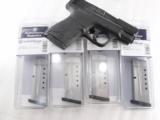 2 Smith & Wesson M&P Shield 9mm Factory 7 Shot Magazines Stainless XM19935 MP Flat Plate - 7 of 7