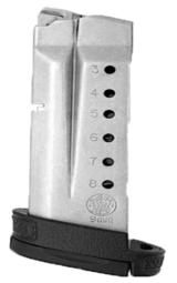 3 or more Smith & Wesson M&P Shield 9mm Factory 8 Shot Magazines Stainless 19936 MP Extension Plate $39 per on 3 or more - 3 of 10