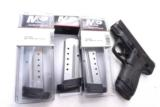 3 or more Smith & Wesson M&P Shield .40 S&W Factory 7 Shot Magazines Stainless 19934 MP40 Extension Plate $39 per on 3 or more - 10 of 10