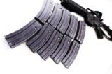 3 Colt AR-15 Magazines 30 Shot Unissued Gray Green Follower Center Industries Wichita KS Colt & GI Contractor- 1 of 6