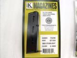 Star model BKS 9mm Triple K 8 Shot Blue Steel Magazine NIB BKS only no B no BM no BKM no BS XM752M - 3 of 10