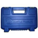 Box S&W Blue Factory Plastic Case Small Medium Handguns- 1 of 5