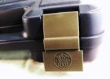 Box S&W Blue Factory Plastic Case Small Medium Handguns- 5 of 5
