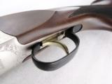 Mossberg International 12 gauge Double Barrel Silver Reserve 3 inch 28 in Single Selective Trigger Nickel Engraved Receiver New Old Stock with 5 Beret - 7 of 15