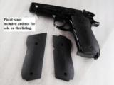 Grips for S&W model 39 439 639 Triple K Ebony finish hardwood GR1951G with Smith & Wesson Logos NIB - 3 of 8