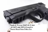 Smith & Wesson .40 MP40 Magazine Safety 16 Shot 1 Magazine 40 S&W Caliber VG to Exc M&P 40 209200- 6 of 15