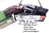 Taurus .38 Special +P Model 85 Blue Steel Snub with Walnut Combat Grips Smith & Wesson Model 36 Chief's Special copy Snub Nose 38 Spl 2 inch 21 oz Exc - 14 of 15