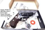 Taurus .38 Special +P Model 85 Blue Steel Snub with Walnut Combat Grips Smith & Wesson Model 36 Chief's Special copy Snub Nose 38 Spl 2 inch 21 oz Exc - 3 of 15