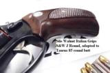 Taurus .38 Special +P Model 85 Blue Steel Snub with Walnut Combat Grips Smith & Wesson Model 36 Chief's Special copy Snub Nose 38 Spl 2 inch 21 oz Exc - 10 of 15