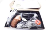 Rossi .357 Magnum model 461 Blue Steel 2 inch 6 Shot DAO Bobbed Hammer Excellent in Box Factory Demo Walnut Grips Discontinued S&W K Colt D Frame type - 2 of 15