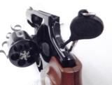 Rossi .357 Magnum model 461 Blue Steel 2 inch 6 Shot DAO Bobbed Hammer Excellent in Box Factory Demo Walnut Grips Discontinued S&W K Colt D Frame type - 8 of 15