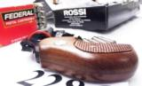 Rossi .357 Magnum model 461 Blue Steel 2 inch 6 Shot DAO Bobbed Hammer Excellent in Box Factory Demo Walnut Grips Discontinued S&W K Colt D Frame type - 12 of 15