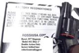 Rossi .357 Magnum model 461 Blue Steel 2 inch 6 Shot DAO Bobbed Hammer Excellent in Box Factory Demo Walnut Grips Discontinued S&W K Colt D Frame type - 13 of 15