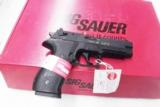 Sig .22 LR Mosquito 4 inch Adjustable Sights Rail Black Nitron Finish Factory Refinished Mint Red Box CPO Certified Pre Owned Sauer Arms 22 Long Rifle - 13 of 15
